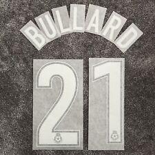 Wigan Athletic Jimmy Bullard - Coca-Cola Football League Shirt Name & Number Set