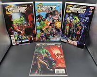 Champions #6 #7 #8 #10 Comic Lot Run Set Marvel Comics 2016