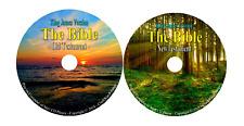KJV Bible Audio King James Version Old & New Testament Mp3 Audio Book CD  A01