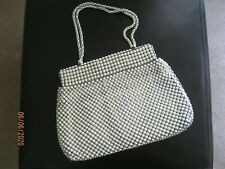 Vintage Whiting & Davis Co.1940' s Alumesh Beaded Purse ~*~*~*~