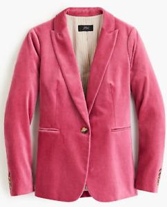 J.Crew: Parke Blazer In Pink Size 4