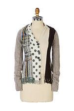 Anthropologie Charlie Robin spliced scarf cardigan sweater Women XS Worn Once