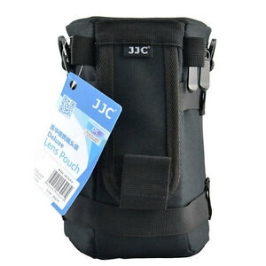 JJC DLP-5 Lens Pouch Case Bag for 70-300mm 24-105mm 28-300 18-300mm 75-300mm