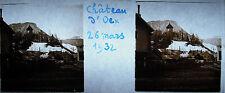 Photographie Château-d'Œx Oex Riviera-Pays-d'Enhaut 26 mars 1932 Suisse