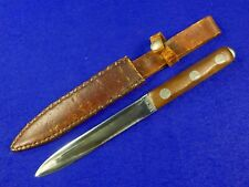 Vintage US John EK 1975 Miami FL Commando Fighting Knife w/ Sheath