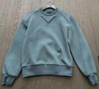 Authentic juun j Hooded Sweater Shirt Green Sz44