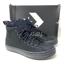 Converse Chuck Taylor AS Waterproof Boot High Suede Black Men's Sneakers 162409C