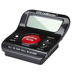 CPR V202 Landline Call Blocker, Block 200 Known & Additional 1000 Robocalls