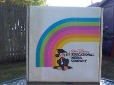 Rare Walt Disney Filmstrips The Fabulous Mr. Toad W/ Record & Cassettes