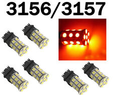 6x 3157 3156 3457 3057 3047 3155 3357 SMD 18 LED Bright Light Bulbs Red