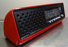 vintage radio - Kultiges rotes Designer Radio Loewe Opta R11 line 2001 1971-73