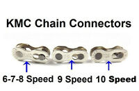 2 PAIRS KMC 6/7/8 & 9 &10 Speed Easy Replacement  Master Chain Master Link Join