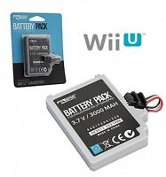 Extended Battery Pack for Nintendo Wii U Gamepad 3000 mAh 3.7V Rechargeable