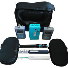 Optical Power Meter Light Source Visual Fault Locator Fiber Cleaning Kit Cleaner