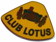 Club Lotus lapel pin