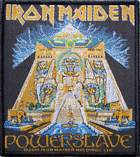 "Iron Maiden Powerslave Patch 9cm x 10cm (3 1/2"" x 4"")"