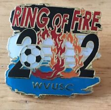 2002 WVUSC RING OF FIRE SOCCER PIN Women's Volleyball Team USC