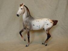 Breyer Marwari CM/Custom  Dappled Mulberry Appaloosa Horse Statue OOAK