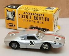 Jouef Circuit Routier Porsche N°80 gris + boite d'origine Ref 364 a restaurer