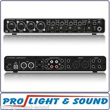 8% Off! Behringer UMC404HD HD, 4x4, 24-Bit/192 kHz USB Audio/MIDI Interface