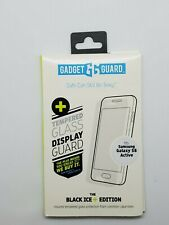 Gadget Guard tempered Glass Screen guard - Black ICE+  Samsung Galaxy S8 Active
