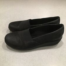 Easy Spirit ESKALEO e360  Womens Black Textile Slip On Shoes Size 7.5 M