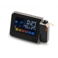 Snooze Réveil Calendrier Température Projection Multifonctionnel Réveil #