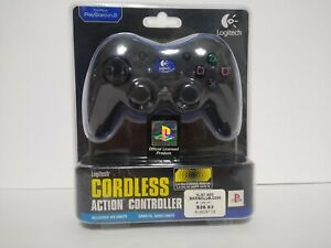 NEW Logitech Cordless Action Wireless Controller for PlayStation 2 PS2