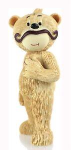 Bad Taste Bears - Sanchez - Collectable Figure Moustache Figurine Rare Boxed NEW