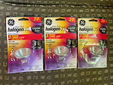 3 GE 23253 Halogen Floodlight Bulb, 35 Watts, 12 Volts