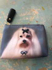 NIB Anya Hindmarch Adorable Dog Maltese Coin Purse