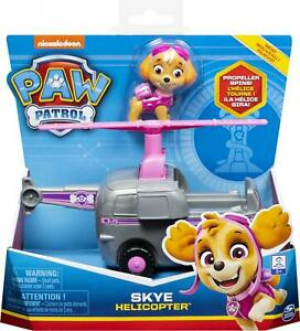 Paw Patrol Skye Helicopter Vehicle & Figure Set