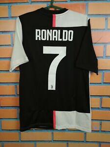 Ronaldo Juventus Jersey 2019/20 Home Kids Boys 15/16 y Shirt Adidas DW5453