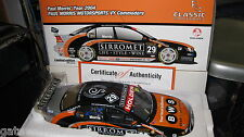 1/18 CLASSIC HOLDEN VY COMMODORE PAUL MORRIS SIRROMET 2004 V8 SUPERCAR #29 18145