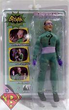 THE RIDDLER DC Batman Classic 1966 TV Series Retro Clothed Figure Series 1 2014