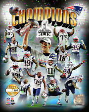 New England Patriots Super Bowl Xlix Serial# Licensed Photo only 5,000 Produced