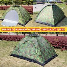 2 Person Outdoor Camping Waterproof Family Tent 4 Season Hiking Folding Camo