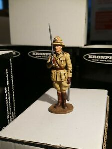 KRONPRINZ TOY SOLDIERS Set-  WW2 Italian Infantry Africa King and Cntry/Britains