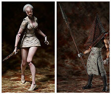 """Figma Silent Hill 2 """"Red Pyramid Thing + Bubble Head Nurse"""" SET from Japan"""