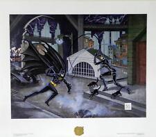 BATMAN RETURNS DANGEROUS GAME Of CAT & BAT LTD ED #241 PRINT Bob Kane Catwoman