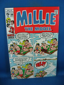 MILLIE THE MODEL 186 F VF MARVEL 1970