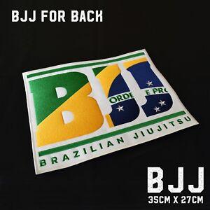 Jiu Jitsu Gi Patches - BJJ Patch for Back (Big Size)