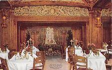 Illinois postcard Chicago, Hotel La Salle, The Three Graces Blue Fountain Room