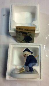 "VTG Avon Good Housekeeping The Jessie Wilcox Smith Figurine 1986 Winter Snow"""
