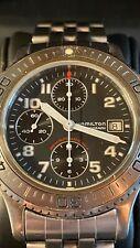 Hamilton Khaki Chrono Diver Automatic Valjoux 7750