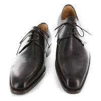 Neuf Sutor Mantellassi Marron Foncé Chaussures - à Lacets - 7/6 - (M10882SC73)