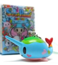 Tokidoki SEA PUNK FRENZIES - NARWALLY Zipper Pull Keychain Vinyl Figure