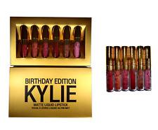 New Kylie Jenner Birthday Edition Mini Matte 6 Lip Kit Lipstick Set Gift Set