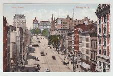 [55737] OLD POSTCARD TROLLEYS on STATE STREET, ALBANY, N. Y.