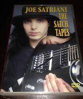 I Video di Joe Satriani The Satch Tapes in DVD Perfetto Collezione Personale